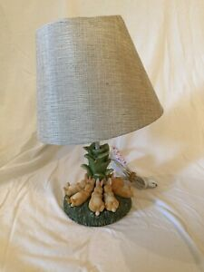 Beatrix Potter PETER RABBIT SLEEPING BUNNIES Small Table Lamp