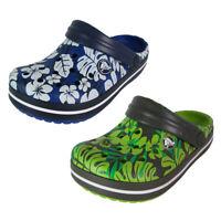 Crocs Crocband Tropical Print Clog Shoes