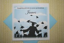 Handmade Personalised Congratulations Graduation Card Son Daughter Friend
