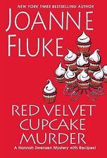 Red Velvet Cupcake Murder: Hannah Swensen Mystery by Joanne Fluke - HC - NEW!