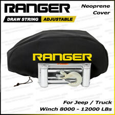 Ranger Jeep / Truck / Pickup Weather-Resistant Neoprene Storage Winch Dust Cover