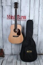 Martin DJR Dreadnought Jr Acoustic Guitar Spruce Top Natural Finish with Gig Bag