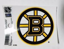 "Boston Bruins 3"" x 4"" Small Static Cling - Truck Car Window Decal NEW NHL"