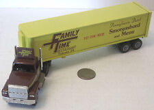 """Winross Family Time Semi Trailer Truck 10"""" Heavy (see photo)"""