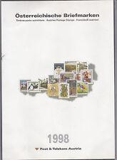 Ö 1998 Jahreszusammenstellung Postfrisch ** MNH