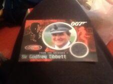 James Bond 40th Anniversary Binder Exclusive Costume Card CC3 Patrick Macnee