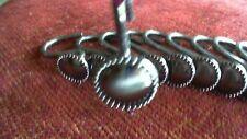 Shower Curtain Hooks/12/Euc/Bronze Color