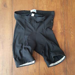 Pearl Izumi Medium Cycling Shorts Compression Leather Chamois Black M USA Made