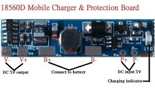 Battery Charger module for single 18650D Li Ni-Cd NiMH with Protection Function
