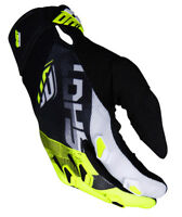 NEW 2019 SHOT ULTIMATE MOTOCROSS ENDURO QUAD BIKE MX GLOVE BLACK NEON YELLOW