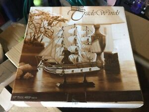 model wooden boats box of 5 grab box as is