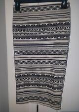 juniors A Byer brand pencil skirt tribal print new