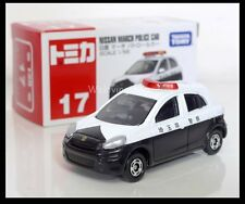 TOMICA #17 NISSAN MARCH POLICE CAR 1/58 TOMY 2012 September NEW MODEL DIECAST