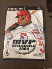 PS2G262 MVP Baseball 2004 (Sony PlayStation 2, 2004)