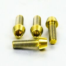 Pro-Bolt TI Clip-On Bar Pinch Bolts Gold TICLIPBAR150G Streetfighter 848 11+