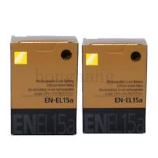 2 * EN-EL15a EL15a New Batteries For Nikon D7100 D850 D7500 D810 D800 D7200 D750