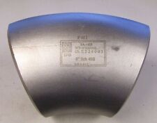 """PMI SA-403 WP-W316/316L SCH 40S 45° 6"""" E524003 STAINLESS S/S BUTTWELD ELBOW NEW"""