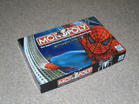 MONOPOLY GAME : 2007 SPIDER-MAN EDITION - By PARKER IN VGC (FREE UK P&P)