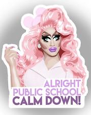 RuPauls Drag Race Queen Trixie Mattel Unhhhh LARGE Sticker decal car laptop