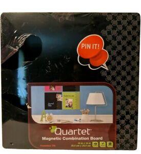 Quartet Magnetic Combination Board Frameless Tile Set Of 2