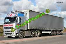 Truck Photo TR-00515 Volvo  Reg:- GN06HDE Op:- Roland Barton M20 Dover Lorry