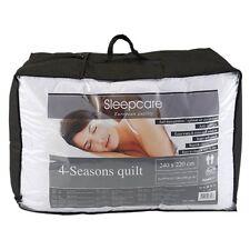 Sleepcare 4 seizoenen dekbed -  wit - vulling polyester
