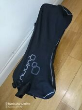 Quinny zapp in black with rain cover and black travel bag FREE POST
