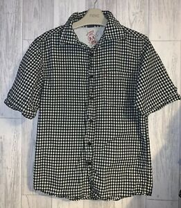 Boys Age 10 Years - TU Checked Short Sleeved Shirt