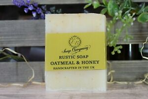 Rustic Artisan Soap Handmade in the UK Natural Plastic Free Friendly Soap