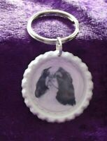 King Charles Spaniel Keyring by Curiosity Crafts
