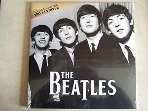 THE BEATLES coffret 1 VINYL+ 1 CD Import     NEUF ET SCELLE
