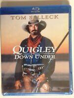 Quigley Down Under (Blu-ray Disc, 2011)(NEW) Tom Selleck, Alan Rickman