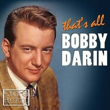 Bobby Darin - That's All [New CD]