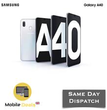 Новый Samsung Galaxy A40 64 ГБ (2019) Android смартфон двойной SIM 4G LTE, разблокированный