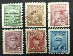 Canada - 1942/43 King George VI War Issue used