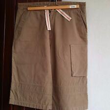 Jil Sander pantalone corto uomo  Tg. 48 colore marrone chiaro.