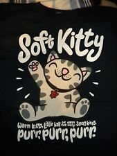 The BIG BANG Theory     Sheldon Soft Kitty   purr purr       Graphic  T Shirt