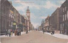 Fawcett Street Sunderland Postcard Vintage 1905
