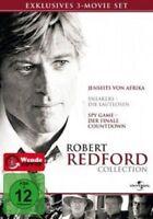 ROBERT REDFORD COLLECTION (JENSEITS VON AFRIKA/SPY GAME/SNEAKERS) - 3 DVD NEU