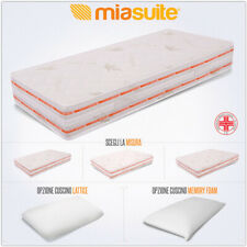 MATERASSO BASSA MAREA H 25 CM MULTIONDA MEMORY WATERFOAM DENSITA' H2 ORTOPEDICO