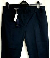 NWT Brooks Brothers Women's  Navy Blue Chinos Capri Pants Sz 10