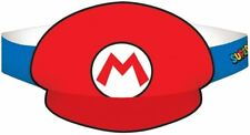 Nintendo Super Mario Paper Hats - 8 pack Birthday Party Favours