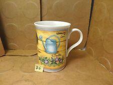 Gardening Supplies Coffee/Tea Mug, Crown Trent China Limited, England (Used/EUC)