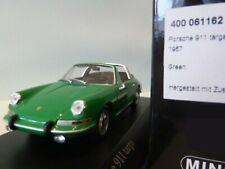 WOW EXTREMELY RARE Porsche 911 1965 Targa Green 1:43 Minichamps-356-930-Spark