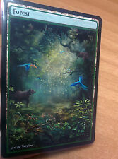 1x Forest #17 Extended Textless Full Art Custom Altered Basic Land MTG