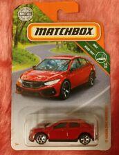 Matchbox '17 Honda Civic Hatchback Red