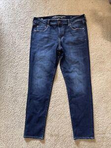 AE American Eagle Skinny Denim women jeans size 14