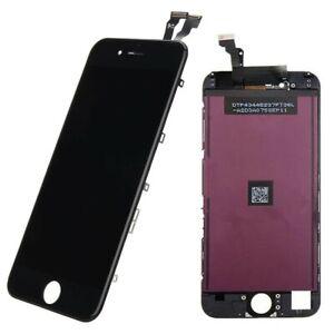 DISPLAY LCD + TOUCH SCREEN NERO PER APPLE IPHONE 6 QUALITA' AAA+ VETRO SCHERMO