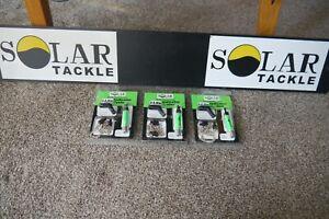 SOLAR I-LITE BOBBINS GREEN X3 NEW CARP COARSE FISHING TACKLE GEAR SET UP