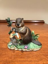 Lenox Woodland Worker American Beaver-Woodland Collection-1994